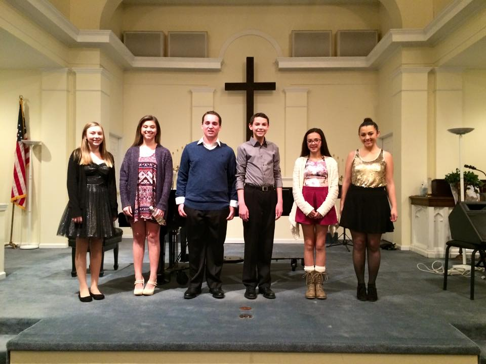 Our 7pm Recital Students