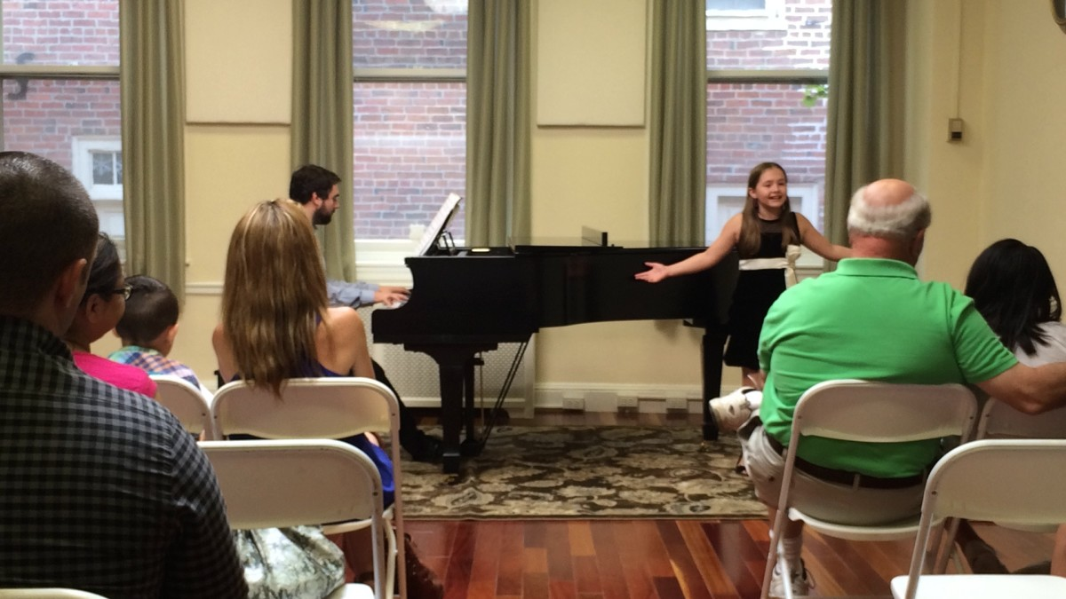 Resonance Vocal Student Sophie F. performing at our 2015 Summer Recitals