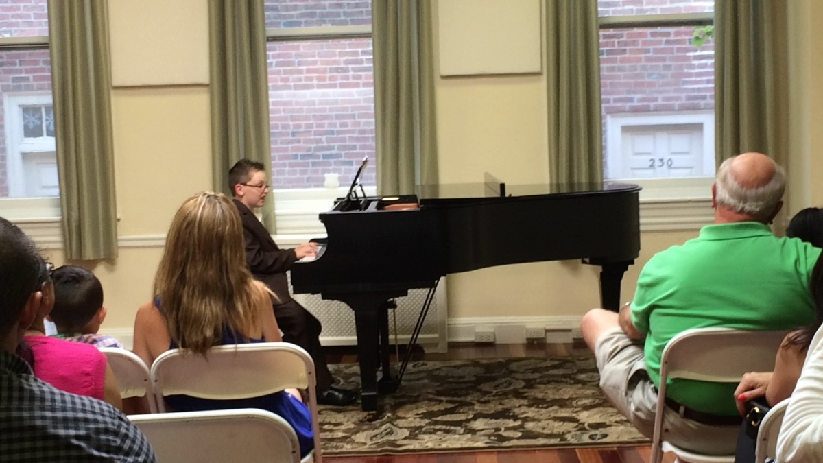 Resonance Piano Student Jonah A. performing at our 2015 Summer Recitals