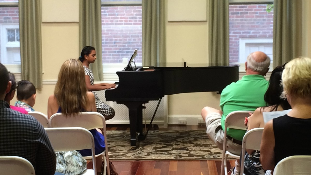 Resonance Piano Student Sejal J. performing at our 2015 Summer Recitals