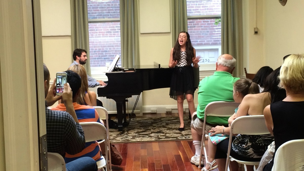Resonance Vocal Student Venessa M. performing at our 2015 Summer Recitals