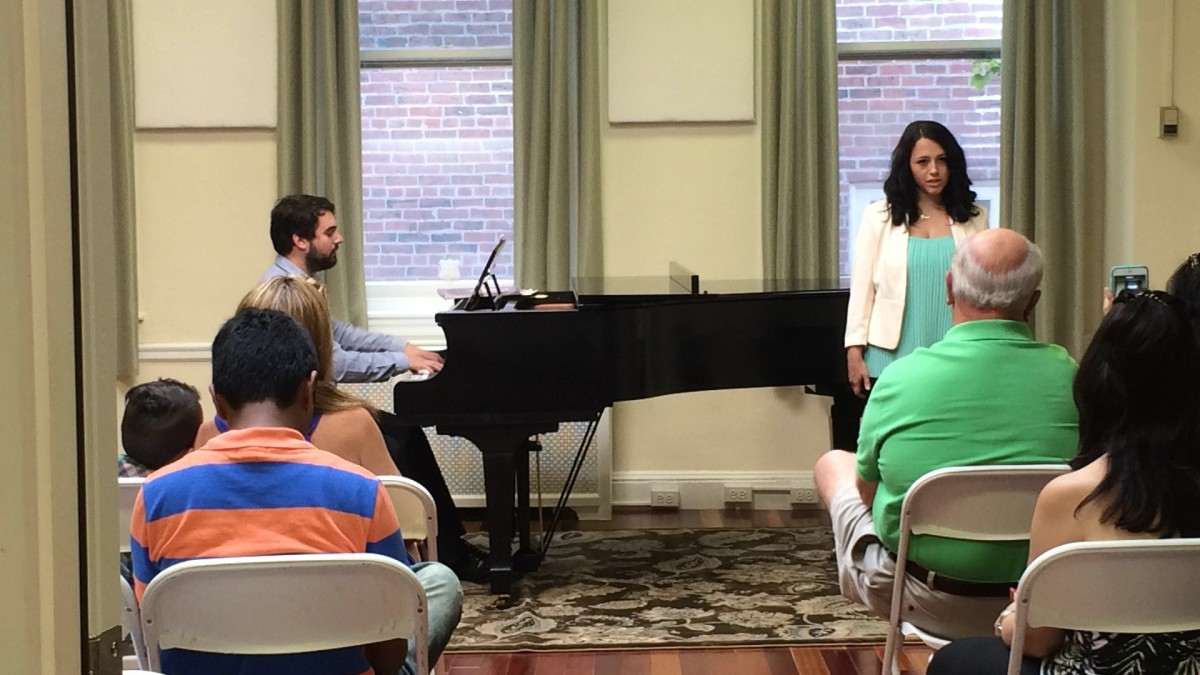 Resonance Vocal Student Kelley E. performing at our 2015 Summer Recitals