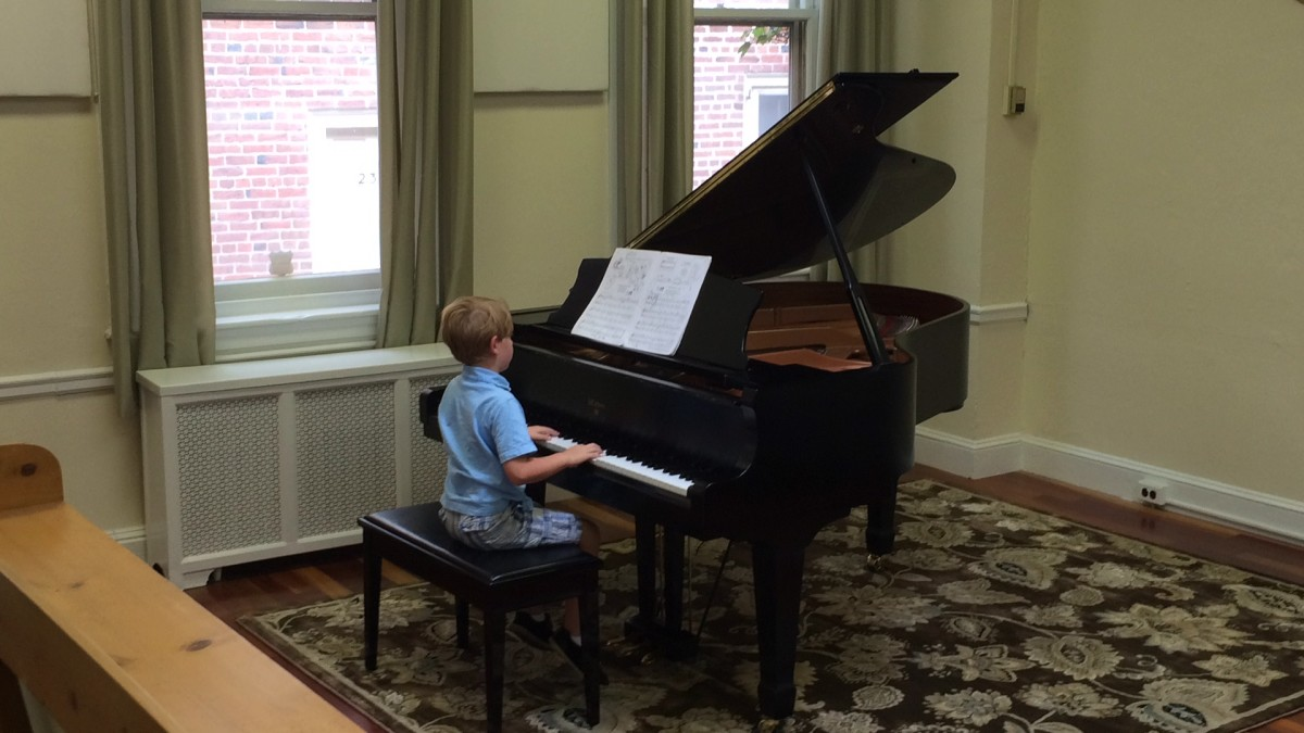 Resonance Piano Student Timmy B. performing at our 2015 Summer Recitals