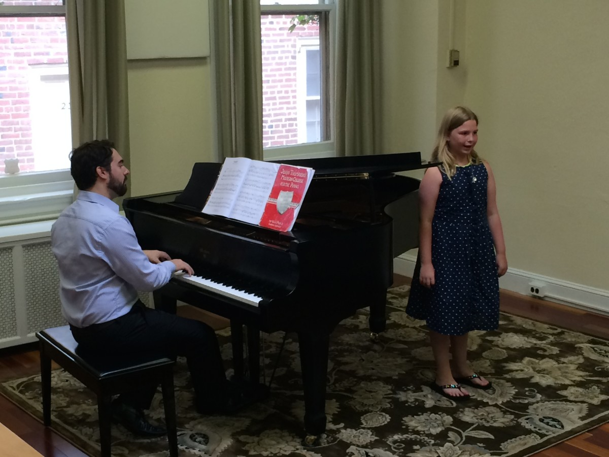 Resonance Piano & Vocal Student Katie B. performing at our 2015 Summer Recitals