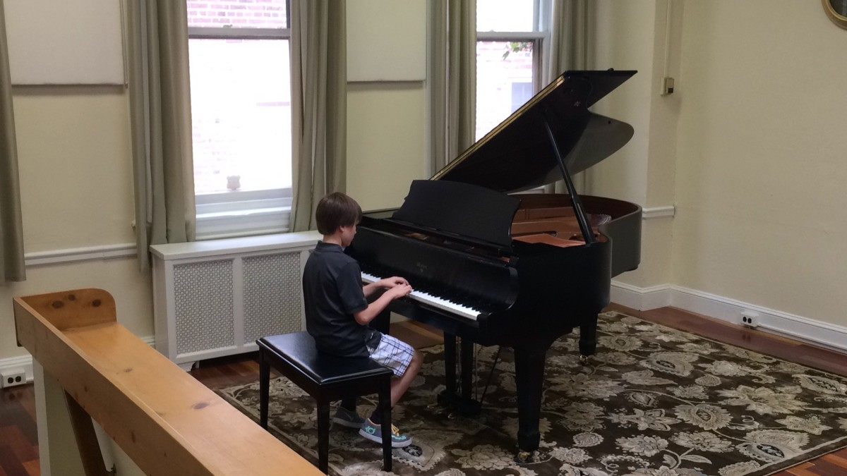 Resonance Piano Student Brady C. performing at our 2015 Summer Recitals