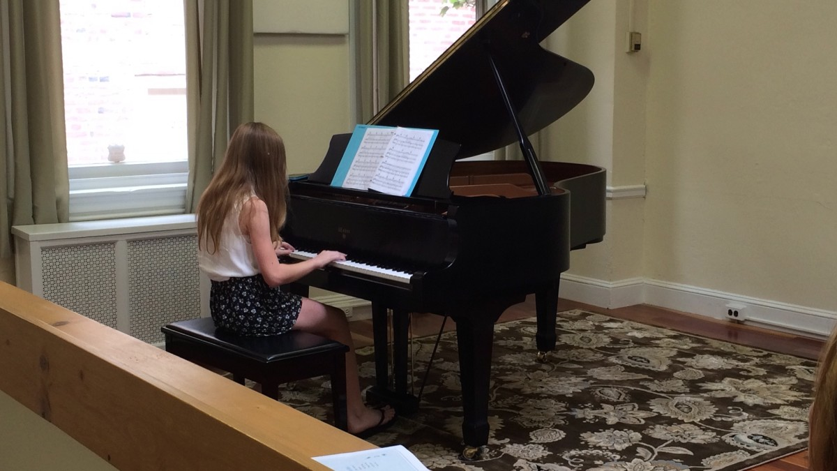 Resonance Piano Student Emma G. performing at our 2015 Summer Recitals