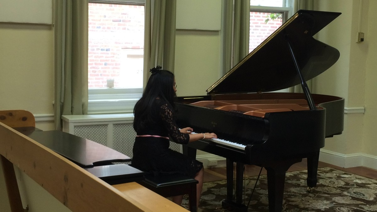 Resonance Piano Student Sreeta B. performing at our 2015 Summer Recitals