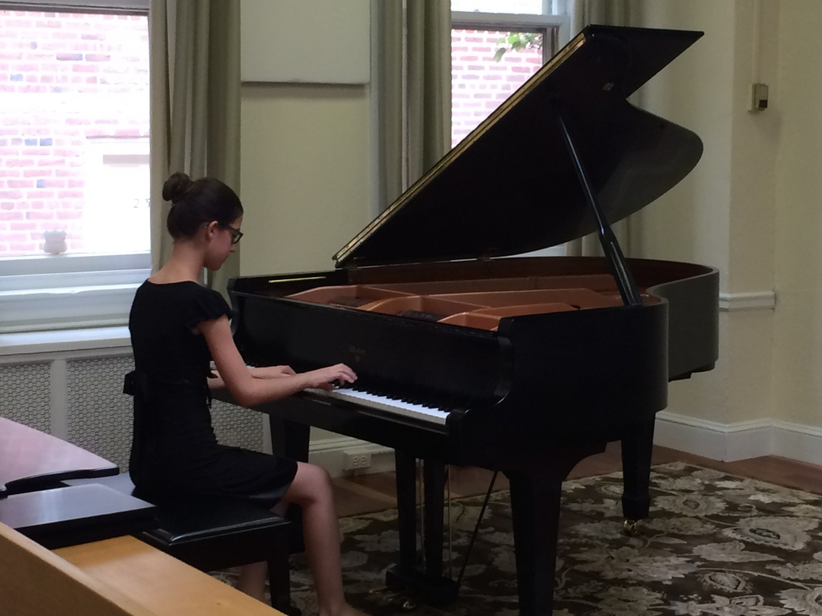 Resonance Piano Student Sophie A. performing at our 2015 Summer Recitals