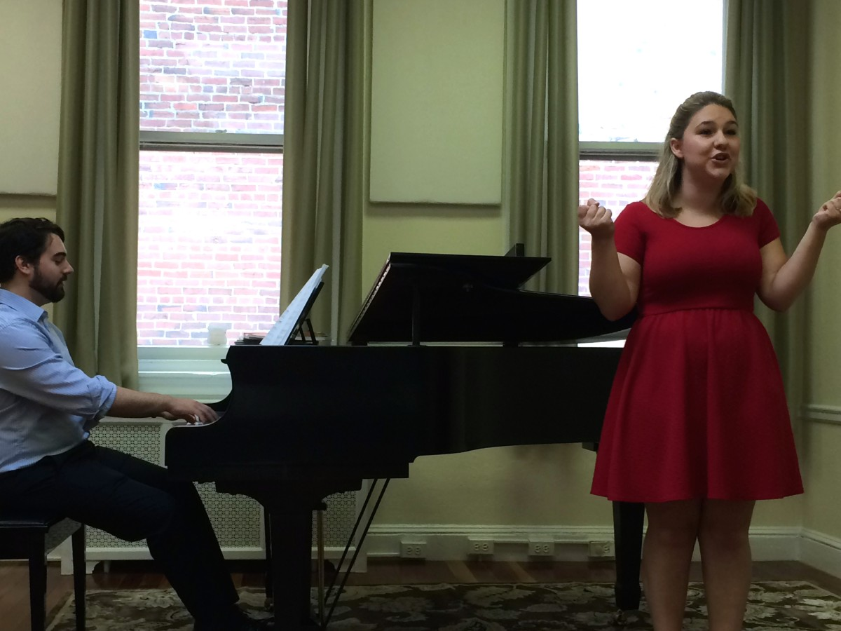 Resonance Senior Vocal Student Olivia C. performing her Senior Recital at our 2015 Summer Recitals