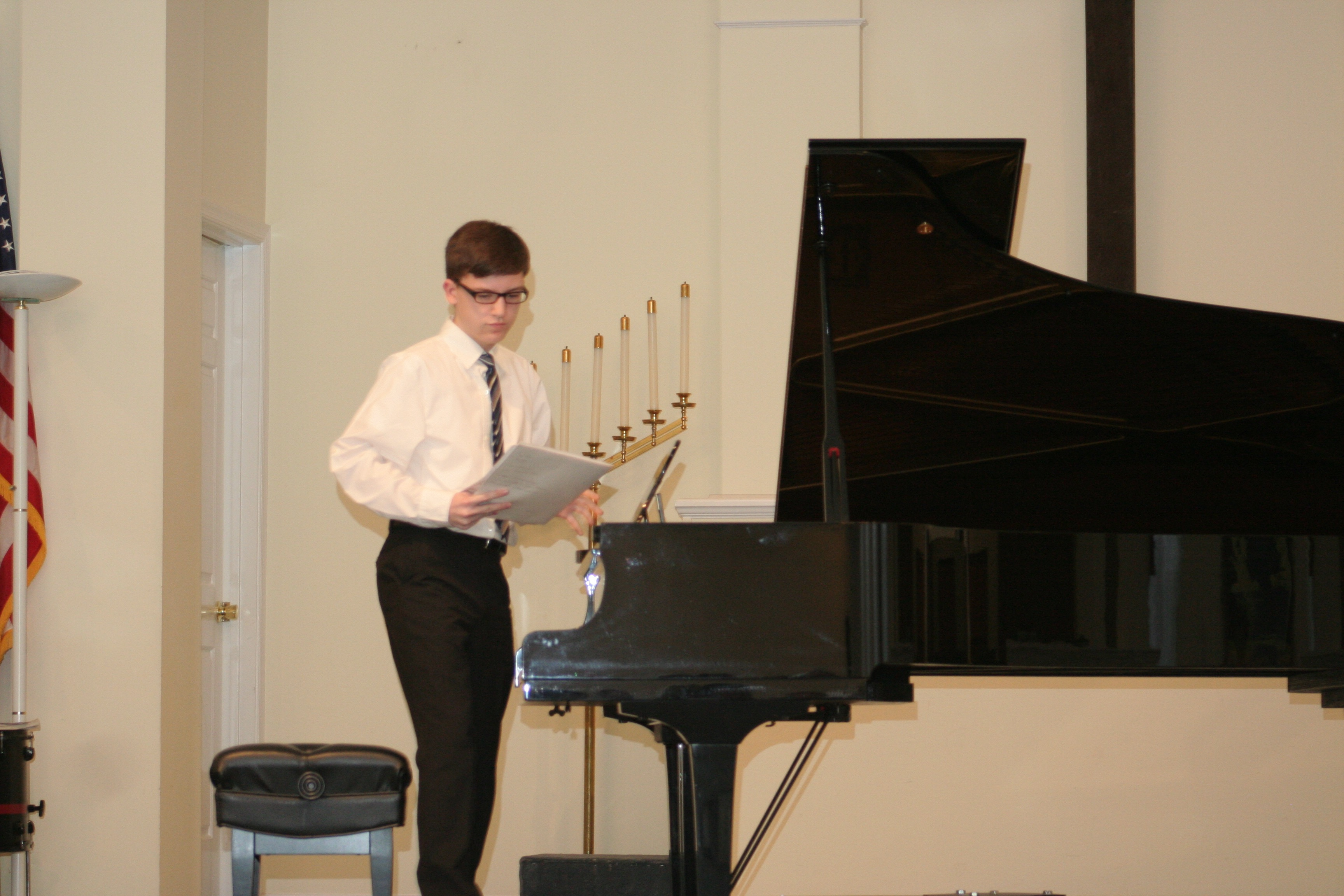 Resonance Piano Student Evan P.