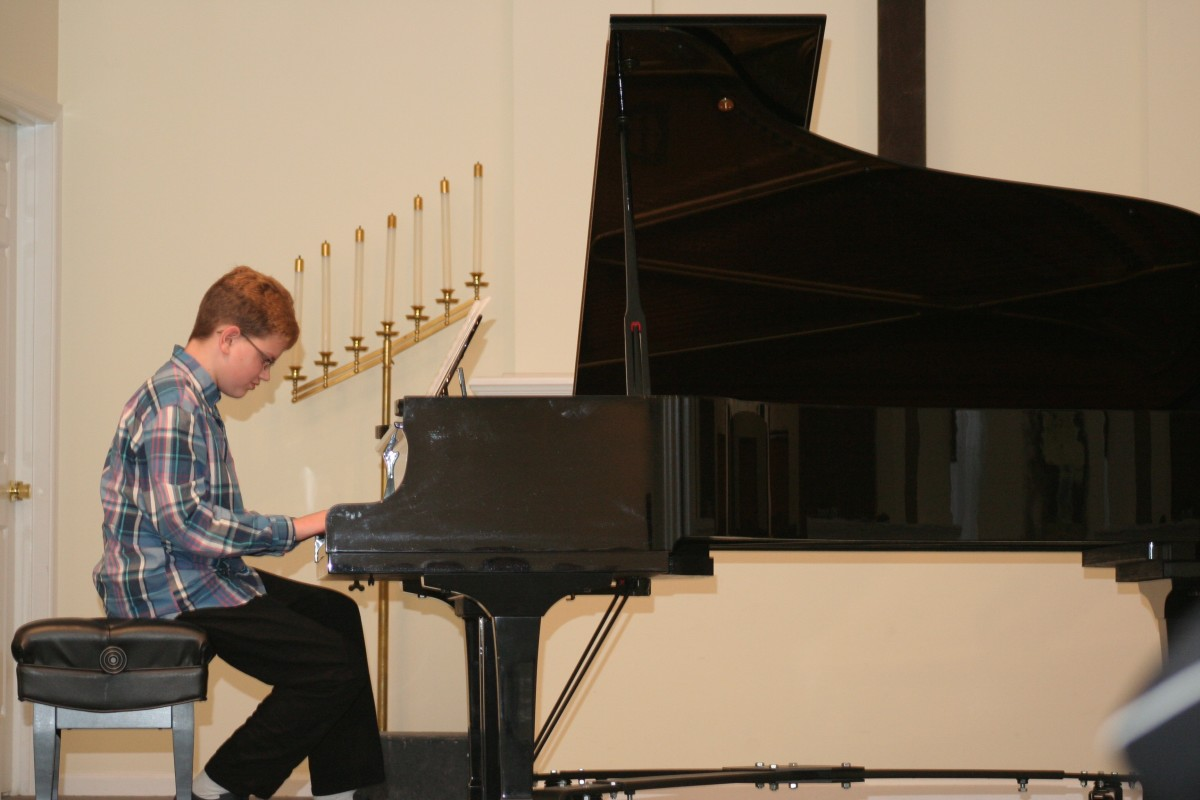 Resonance Piano Student Kyle S.
