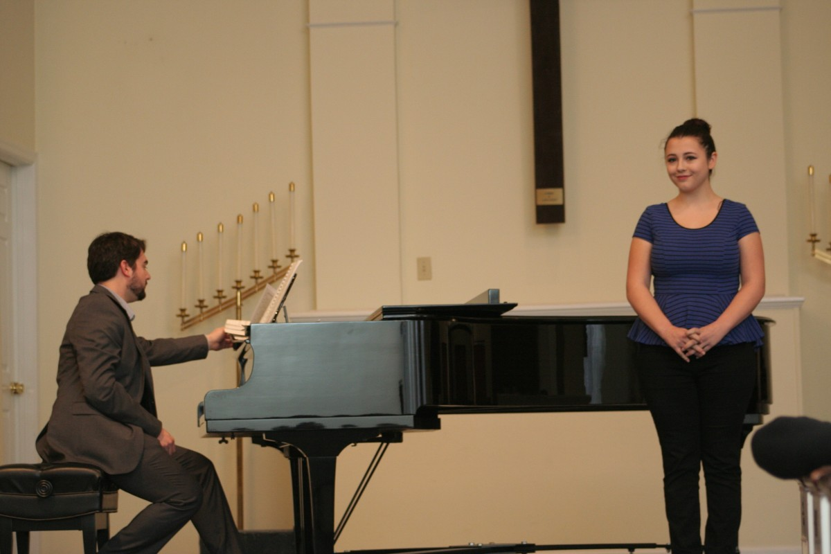 Resonance Vocal and Piano Student Kelley E.