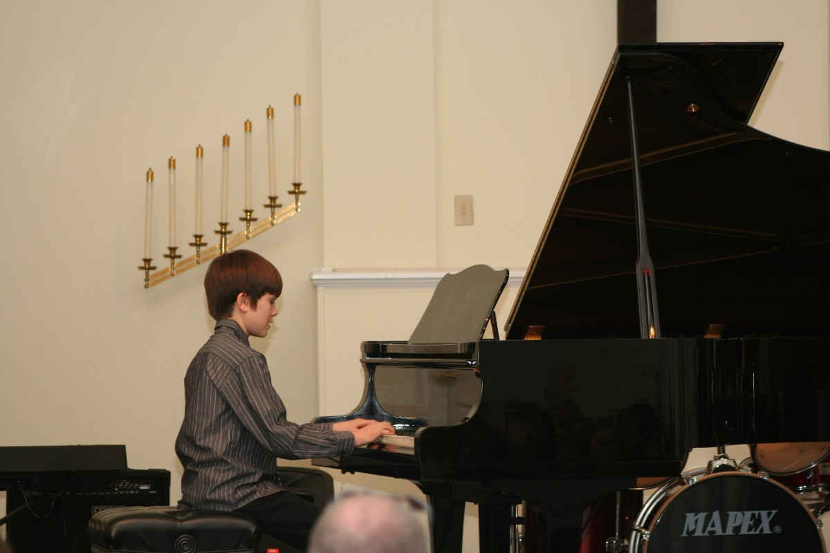 Resonance Piano Student Brady C.