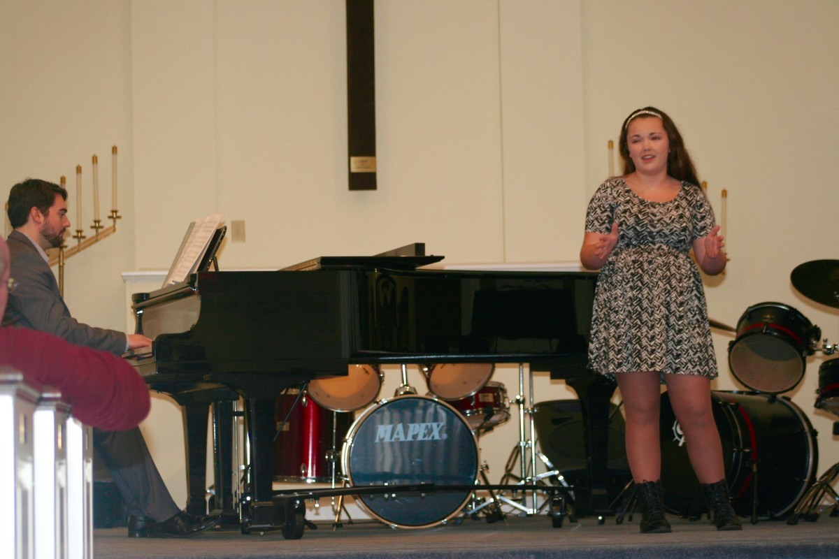 Resonance Vocal Student Kendall D.