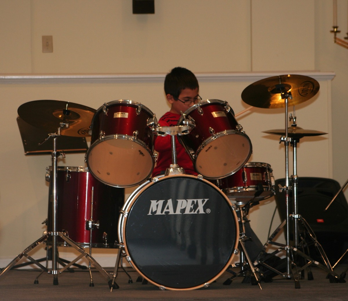 Resonance Drum Student Brody D.