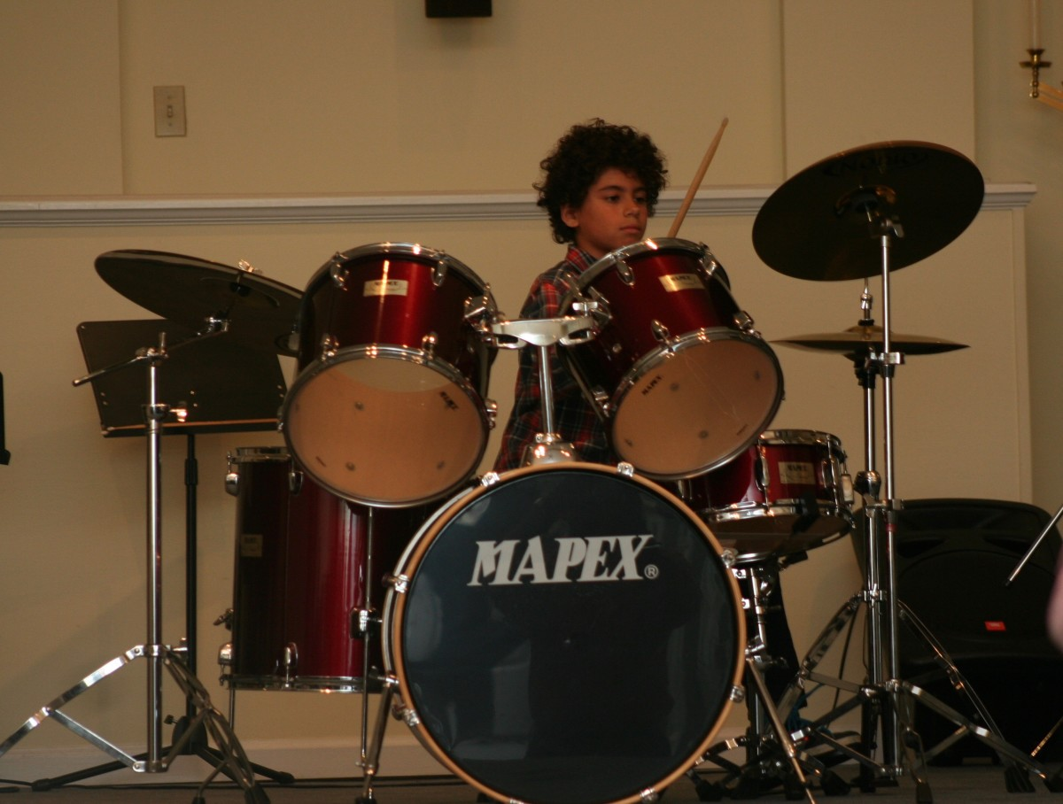 Resonance Drum Student Ian M.