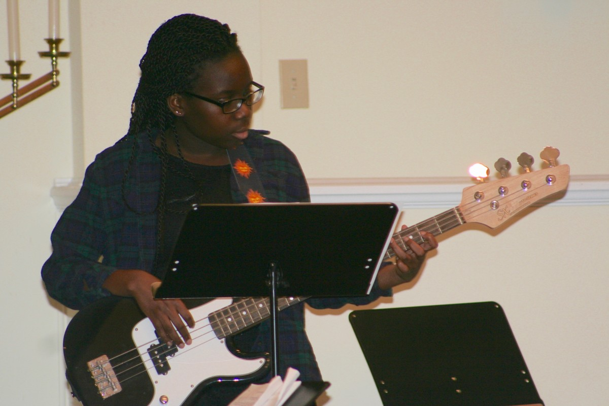 Resonance Bass Student Rebecca D.