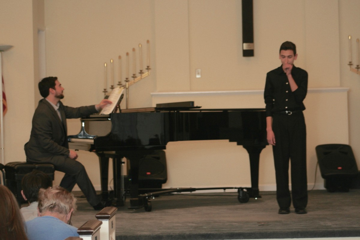 Resonance Vocal Student Matthew C.